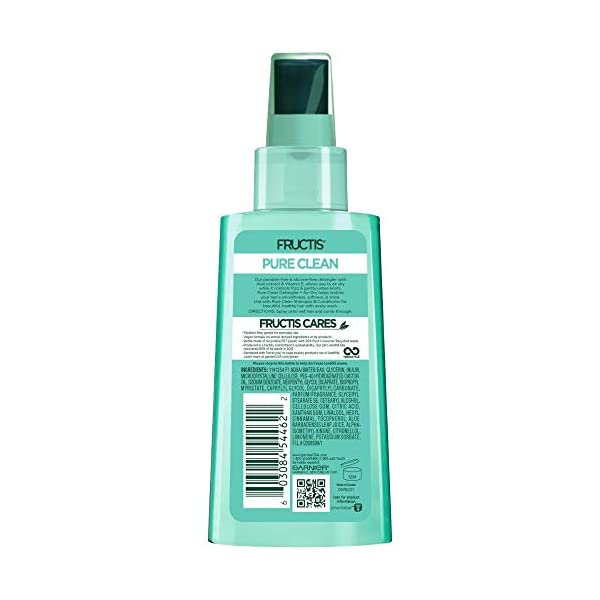 Beauty Shopping Garnier Hair Care Fructis Pure Clean Detangler + Air Dry, No Tangles or Frizz, Silicone