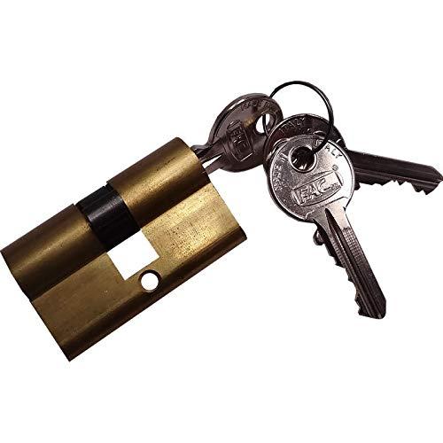 BAUER - Zylinder C35054, mit Schlüssel | Tür, Türschloss, Zylinderschloss, Schließzylinder, Schloss
