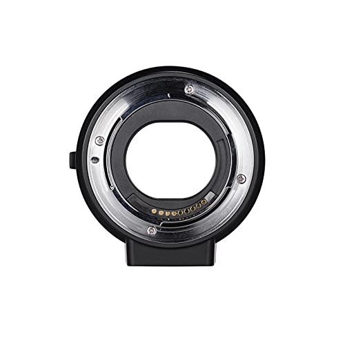 MTGJFDDFO Tubo de extensión del Anillo del Adaptador de Montaje de la Lente AF como Ajuste para la Lente Canon EF EF-S a la fiot para el Canon EOS M2 M3 M6 M10 M50 M-Mount