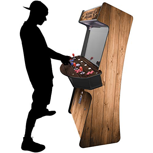"""Creative Arcades Full-Size Commercial Grade Cabinet Arcade Machines 