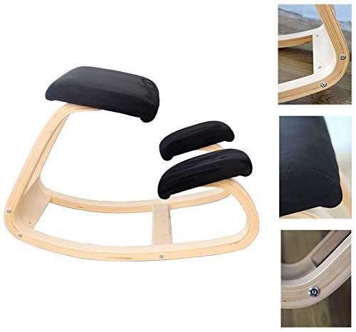 Haltungskorrekturstuhl, Ergonomischer Stuhl Zum Knien - Hocker Zum Knien Für Eine Bessere Körperhaltung - Großer Home Office- Oder Schreibtischstuhl, Für Zuhause/Büro/Meditation