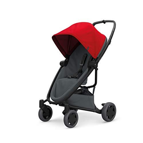 Quinny Zapp Flex Plus Urban Kinderwagen rot auf graphit