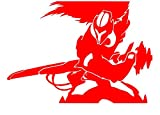 UR Impressions Red Yasuo League of Legends Inspired Decal Vinyl Sticker Graphics for Cars Trucks SUV Vans Walls Windows Laptop|RED|5.5 X 4.5 Inch|URI162-R