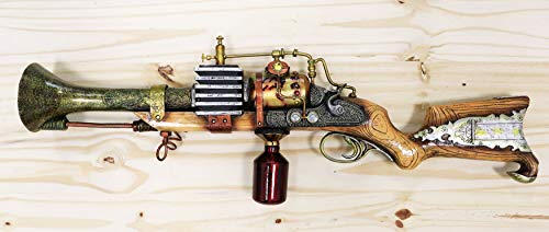 steampunk machine gun