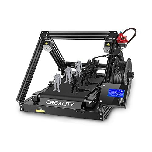 Creality CR-30 Impresora 3D 3DPrintMill Infinite Z Cinturón Impresora Continua Cinturón CoreXY Motion Actualizado 32-bit Silent Board Dual Gear Metal Extrusora Cosplay Props Print Farm