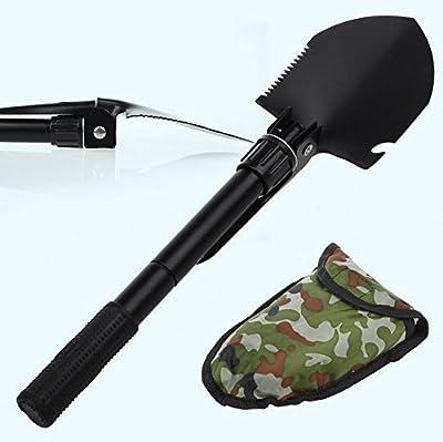 Nihao® Garden Camping Outdoor Folding Shovel Survival Spade Tool with Case from Nihao