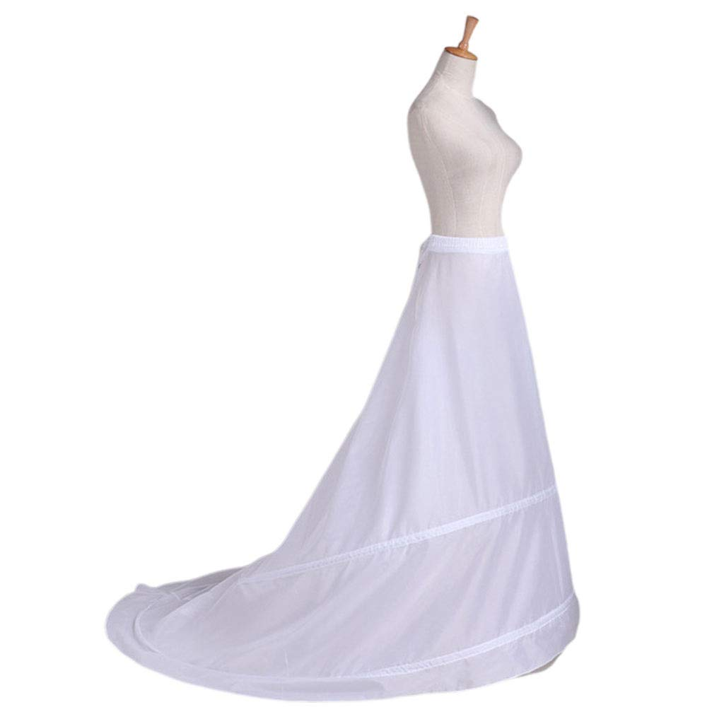 Keepart Falda de Novia para Vestido de Novia, Falda de Remolque ...