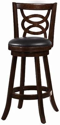 Admirable Amazon Com Belham Living Woodward Extra Tall Swivel Bar Gamerscity Chair Design For Home Gamerscityorg