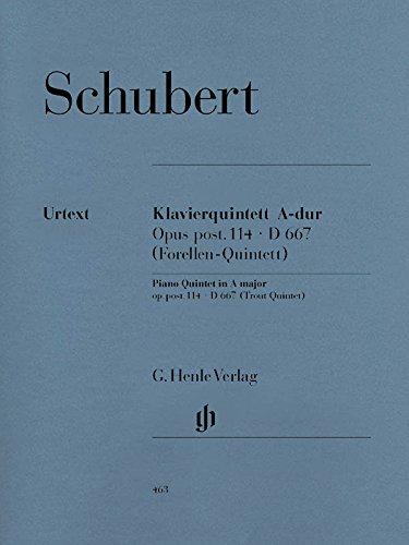 Quintette piano et cordes d667 op.post.114 (la truite) --- m
