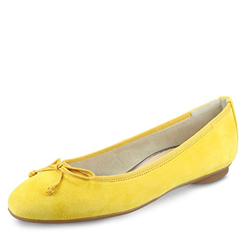 Paul Green Damen Ballerinas 2598 2598-204 gelb 659646