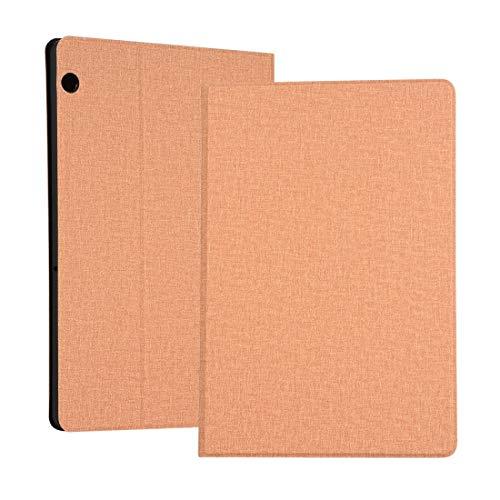 Liluyao Más Casos para Tableta Funda Protectora de Tela TPU de Voltaje Universal for Huawei MediaPad T5, con Soporte (Color : Gold)