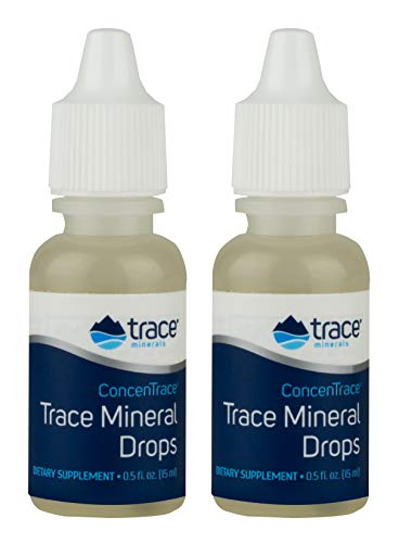 ConcenTrace Trace Mineral Drops Trace Minerals 1/2 oz Liquid (Pack of 2)