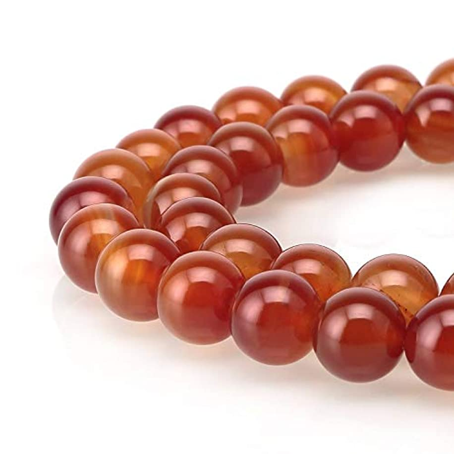 AAA Natural Carnelian Gemstone Loose Round Beads 6mm Spacer Beads 15.5