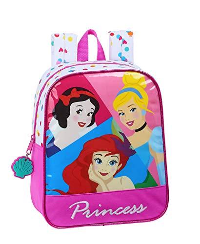 Safta Mochila Infantil de Disney Princess  220x100x270mm  Be Bright