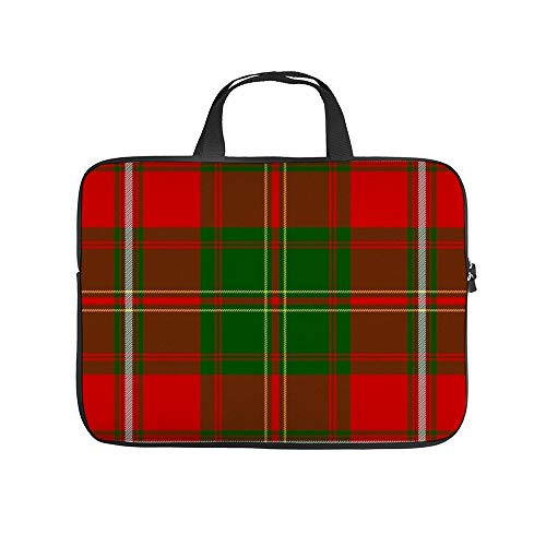 Hay Tartan Sjaal 10 Inch Laptop Sleeve Case Beschermende Cover Draagtas voor 9.7