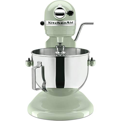 KitchenAid RKP26M1XPT 6 Qt. Professional 600 Series Bowl-Lift Stand Mixer, Pistachio (Certified Refurbished) (RENEWED)