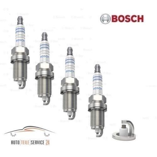 UKB4C Bosch Spark Plug Super Plus 8 0242235666 x4