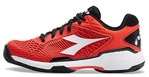 Diadora Speed Competition 5 Clay' - Scarpe da tennis da uomo, Multicolore (Colore: rosso), 48 EU