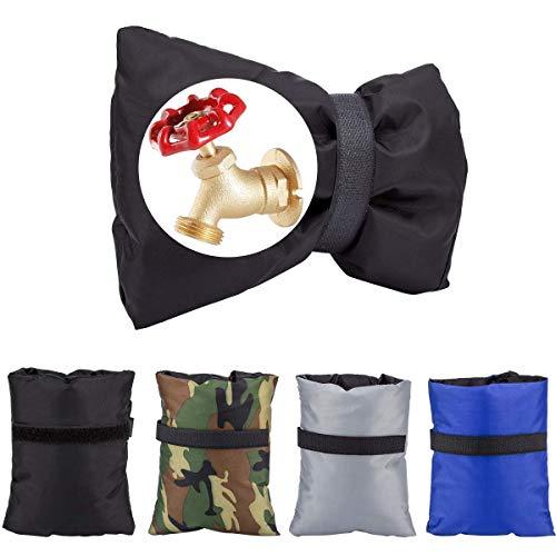 Tenghui-Direct Winter Outdoor Wasserhahn Abdeckungen, Wasserdichte Gartenschlauch Bib Isolierung Socken Frostschutz Abdeckung Pack von 4