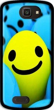 Mobilinnov Archos 50e Helium Smiley Smile or Not Silikon Hülle Handyhülle Schutzhülle - Zubehor Etui Smartphone Archos 50e Helium Accessoires