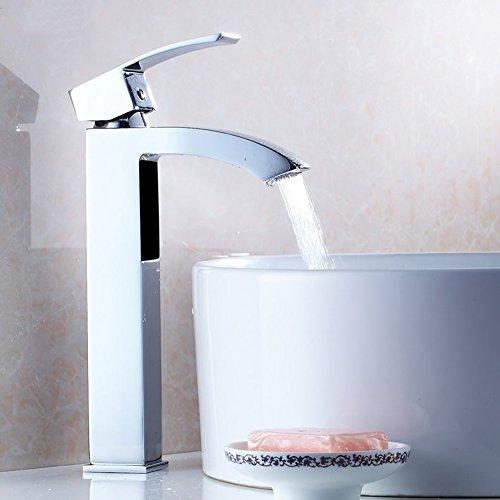 Faucet Lavabo Lavabo Grifo Lavabo Lavabo Grifo Agua Caliente y fría (Tamaño : 28cm)