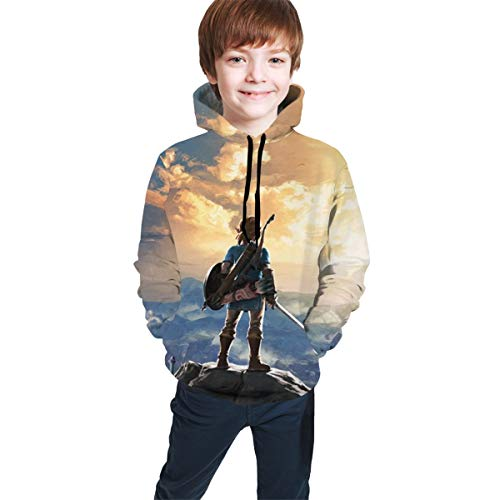 JETEZ Youth Hoodies Children's 3D P…