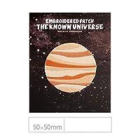 宇宙飛行士の絶妙な刺繍かわいい漫画布ステッカーDiy多機能手動パッチステッカー服充填穴-ネット50 * 50 mm