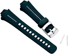 SUUNTO Wrist-Top Computer Watch Replacement Strap Kit (X6HRM, G3, G6; Black Elastomer)