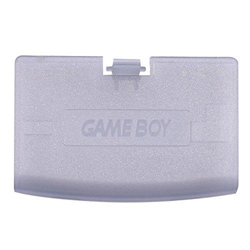Timorn Caso de la Cubierta de la batería reparación de la Parte Puerta de atrás para Gameboy Advance GBA (púrpura Transparente)