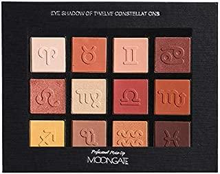 Zodiac Sign Charming Eyeshadow 12 Color Make Up Palette Matte Shimmer Pigmented Twelve Constellation Twelve Constellation