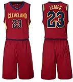MMMP Jersey De Hombre Ropa De Baloncesto De La NBA Masculinos del Juego, James Camiseta con El Número 23 De Los Cavaliers, Kobe Bryant Camiseta con El Número 24, Lakers,Tamaño