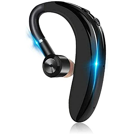 GLAMPANDA Premium Wireless Headset S109 Bluetooth v5.0 Earbuds 18 Hours of Calling with 1 Hour Charge for Calling,Music Sports Single Ear Headphone 360 Degree rotater Mic for All Devices (Multicolor)