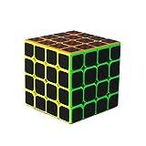 ZhangFei Cubo de Rubik - Fibra de Carbono de Cuarto Orden Cubo de Rubik - Mate Liso de Color Fluorescente Cubo de la Velocidad Conjunto (Color : 1638)