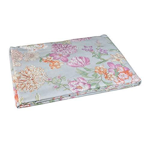 Zucchi Tagesdecke für Doppelbett, Easy Chic Floralia, mehrfarbig, 260 x 260 cm
