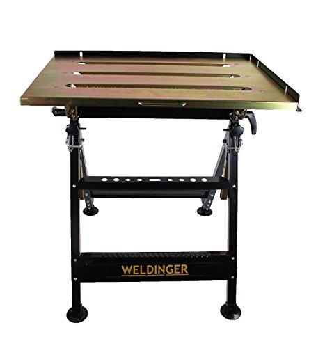 WELDINGER Schweißtisch klappbar (Werkbank Werktisch Werkstatttisch)