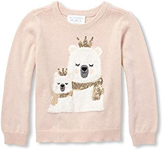 The Children's Place Toddler Girls' Graphic Sweater