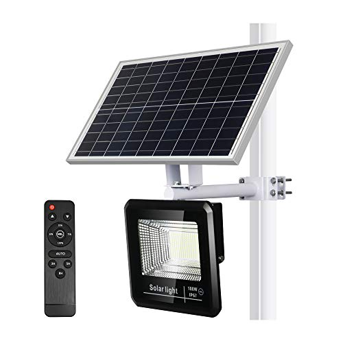 YQL 100W 208-LED Solar Street Security Flood Light  $84 at Amazon