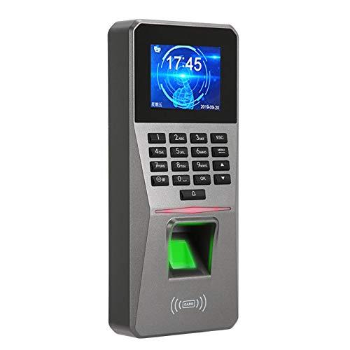 Control de Acceso de Asistencia Huella Dactilar biométrica 3000 Capacidad de Huellas Dactilares, para Seguridad en el hogar