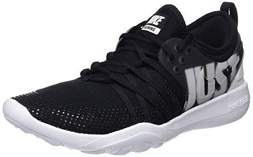 Nike Damen D-Trainingsschuh Free Trainer 7 Premium Laufschuhe, Mehrfarbig (Black/Wolf Grey/White 001), 40.5 EU