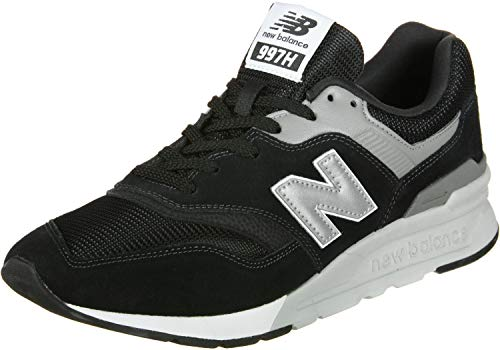 New Balance 997H Core, Baskets Homme, Noir (Black/Silver Charcoal), 43 EU
