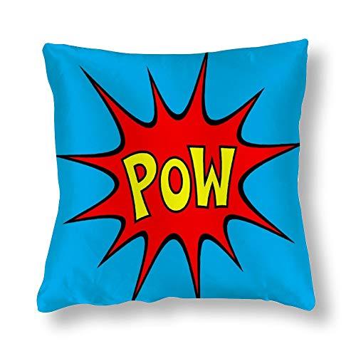 perfecone Home Improvement - Funda de almohada de algodón para sofá y coche, 1 paquete de 40 x 40 cm