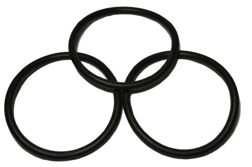 EUREKA Upright Round Vacuum Cleaner Belt, Designed to fit 1400 Series and All Uprights Where The Belt Rides in The Center of The brushroll, 3 Belts in Pack