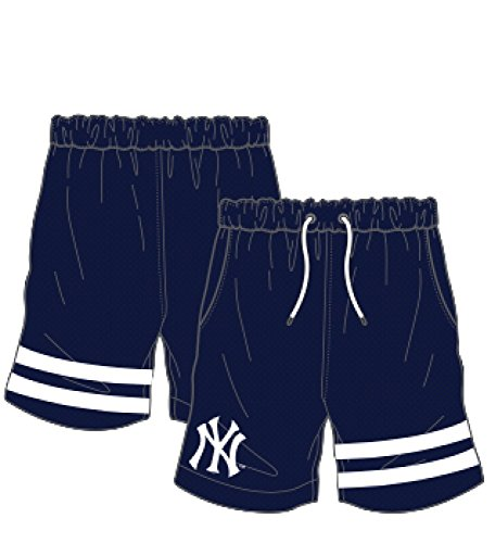 MAJESTIC Short Anen New York Yankees blu bianco - Korte snowboard