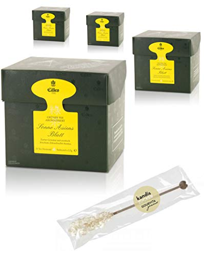 EILLES Tea Diamonds Sonne Asiens Mega-Sparset mit 4 Boxen und gratis Kandisstick von Gourvita Moments