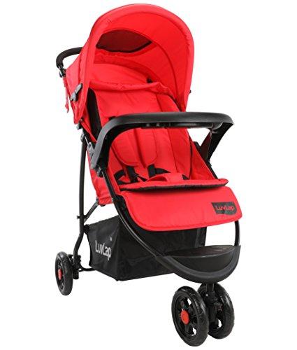 Luvlap Orbit Baby Stroller, Red