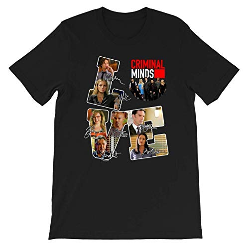 Liebe #Criminal Minds #Matthew #Gray #Gubler #A. J. Cook Kirsten #Vangsness Lustiges Geschenk für Männer Frauen Mädchen Unisex T-Shirt
