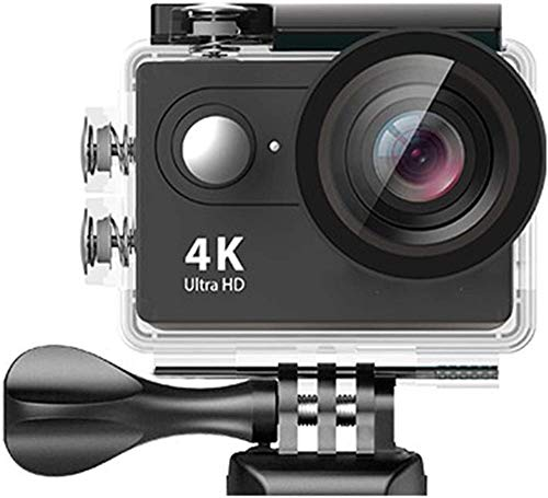 Cámara de acción HD 4K / 30fps WiFi 2.0 170D subacuática impermeable casco cámara deportiva H9/H9R compatible con Android/ISO