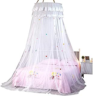 Mosquito Net - Children 39 S Room Dome Ceiling Suspended Bed Tent Princess Large Gauze Nets Net Single Door Floor - Mosquito Malaria Extra Curtains Double Over Hammock Babies Rainfly Canopy St