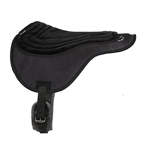 Intrepid International Comfort Plus Western Bareback Pad, Black