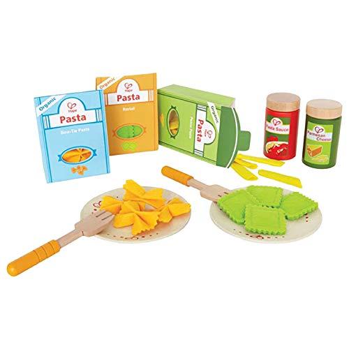 Hape - Comiditas de juguete Pasta (Barrutoys E3125) , Modelos/colores Surtidos, 1 Unidad